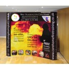 3 x 4 Pop Up Display Stand. Including Lectern, Lights & Printed Graphics