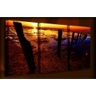 Low Tide - 3 Multi-Panel - 38mm Deep Framed Canvas Print