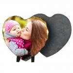 heart photo rock slate