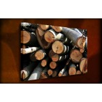 Cut Logs - 38mm Deep Framed Canvas Print