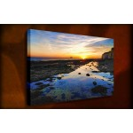 Coastal Reflections - 38mm Deep Framed Canvas Print