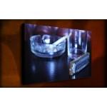 Blues - 38mm Deep Framed Canvas Print