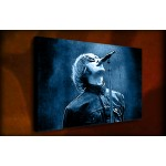 Liam Gallagher Oasis - 38mm Deep Framed Canvas Print