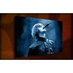 Liam Gallagher Oasis - 38mm Deep Framed Canvas Print