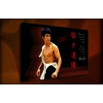 Bruce Lee - 38mm Deep Framed Canvas Print