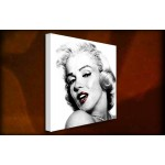 Marilyn Monroe Pout - 38mm Deep Framed Canvas Print