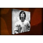 Maradonna - 38mm Deep Framed Canvas Print