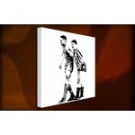 Vinney and Gazza - 38mm Deep Framed Canvas Print