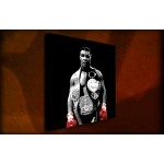 Mike Tyson - 38mm Deep Framed Canvas Print