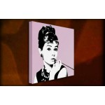 Audrey Hepburn II - 38mm Deep Framed Canvas Print