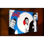 The Jam Paul Weller - 38mm Deep Framed Canvas Print