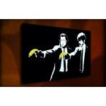 Pulp Fiction - 38mm Deep Framed Canvas Print