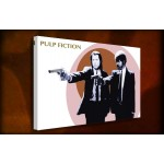Pulp Fiction Shooter - 38mm Deep Framed Canvas Print
