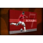 Cristiano Ronaldo - 38mm Deep Framed Canvas Print