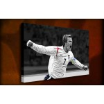 David Beckham - 38mm Deep Framed Canvas Print