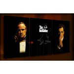 Godfather - 3 Multi-Panel - 38mm Deep Framed Canvas Print