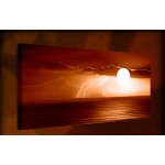 Lightning Strike - 38mm Deep Framed Canvas Print