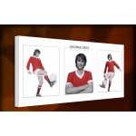 George Best - 38mm Deep Framed Canvas Print