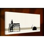 Weston Super Mare - 38mm Deep Framed Canvas Print
