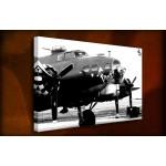 Memphis Belle - 38mm Deep Framed Canvas Print