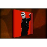 Bullitt Steve McQueen - 38mm Deep Framed Canvas Print