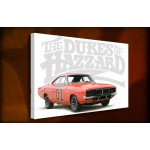 The Dukes Of Hazzard - 38mm Deep Framed Canvas Print
