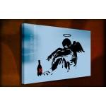 Fallen Angel Urban - 38mm Deep Framed Canvas Print