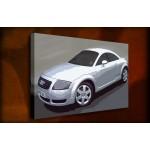 Audi TT - 38mm Deep Framed Canvas Print