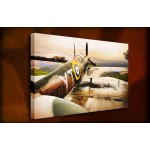 Spitfire - 38mm Deep Framed Canvas Print