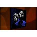 Oasis Blue - 38mm Deep Framed Canvas Print