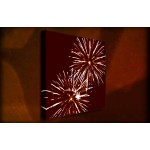 Flare - 38mm Deep Framed Canvas Print