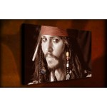 Johnny Depp - 38mm Deep Framed Canvas Print