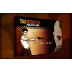 Taxi Driver - 38mm Deep Framed Canvas Print