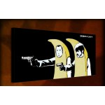 Banana Suits - 38mm Deep Framed Canvas Print