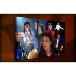 Michael Jackson - 38mm Deep Framed Canvas Print