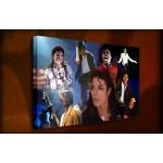 Michael Jackson - 38mm Deep Framed Canvas Print