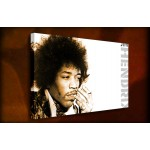 Jimmy Hendrix - 38mm Deep Framed Canvas Print