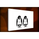 Laugh Now - 38mm Deep Framed Canvas Print