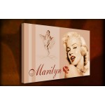 Marilyn Monroe I - 38mm Deep Framed Canvas Print
