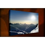 Moon Scape - 38mm Deep Framed Canvas Print