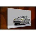Aston Martin DB7 - 38mm Deep Framed Canvas Print