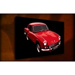 Triumph - 38mm Deep Framed Canvas Print