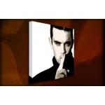 Robbie Williams - 38mm Deep Framed Canvas Print