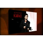 Scarface - 38mm Deep Framed Canvas Print