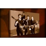 The Beatles - 38mm Deep Framed Canvas Print