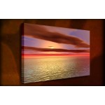 Vivid Seascape - 38mm Deep Framed Canvas Print
