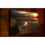 Setting Sun - 38mm Deep Framed Canvas Print