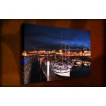 Ramsgate Harbour - 38mm Deep Framed Canvas Print