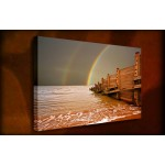 Rainbow - 38mm Deep Framed Canvas Print