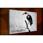 Dungeness container - 38mm Deep Framed Canvas Print